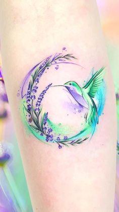 New Tattoo Frauen Bein Bunt Ideas Body Art Tattoos, New Tattoos, Small Tattoos, Cool Tattoos, Sleeve Tattoos, Tatoos, Tattoo E Piercing, Piercings, Tattoos For Daughters