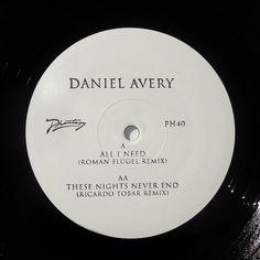 Daniel Avery - All I Need (Roman Flügel Remix) / These Nights Never End (Ricardo Tobar Remix) [PH40]
