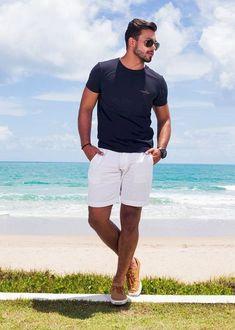 27 Casual Men Fashion for Spring - Herren sommer outfits - Summer Outfits Summer Outfits Men, Holiday Outfits, Men Summer, Mens Holiday Clothes, Stylish Men, Men Casual, Look Man, Style Outfits, Casual Outfits