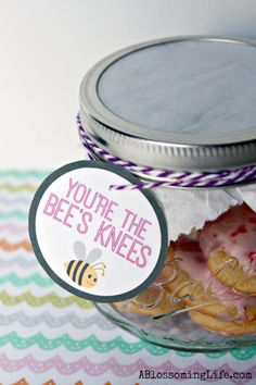 You're the Bee's Knees Valentine by A Blossoming Life