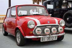 Mini Cooper S. The real deal unlike today's version.