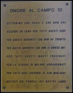 ONORE AL CAMPO X, CAMPO MILITARE - MILANO CIMITERO MAGGIORE (MUSOCCO) - CADUTI REPUBBLICA SOCIALE ITALIANA