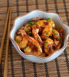 Shrimp in Garlic Sauce. I've wasted so many years not making this dish, since I only found this a few months ago. So many shrimps I could have devoured....