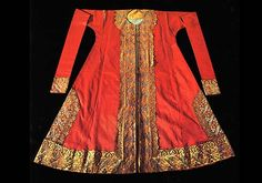 Ottoman sultan's clothing.