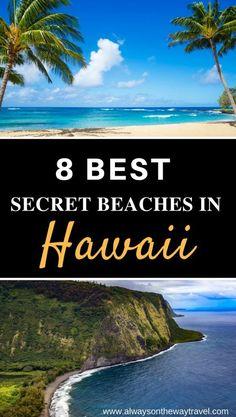 Best Secret Beaches in Hawaii Secret Hawaii beaches to put on your bucket list.Secret Hawaii beaches to put on your bucket list. Hawaii Vacation, Hawaii Travel, Travel Usa, Travel Tips, Dream Vacations, Travel Ideas, Hawaii 2017, Travel Articles, Family Vacations