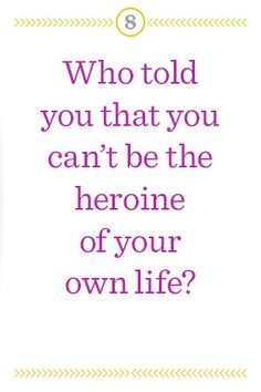 Perhaps you recognize this question. It came from the amazing Elizabeth Gilbert.