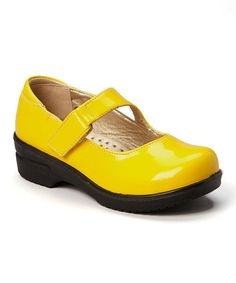 Love this Yellow Patent Danny Mary Jane by COCO Jumbo on #zulily! #zulilyfinds
