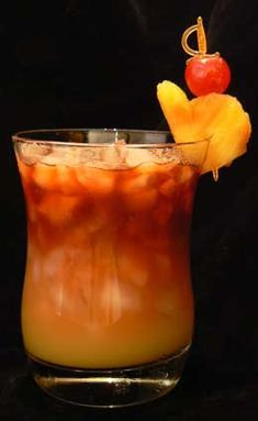 Mai-Tai Mixed Drink Cocktail