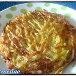 Roesti di patate, daikon e carote