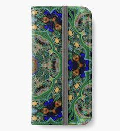 Variation 5 on the Theme Protea Leucospermum iPhone Wallet/Case/Skin