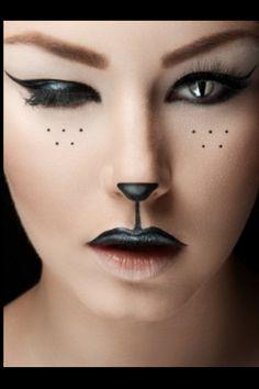 Fun cat make up :)