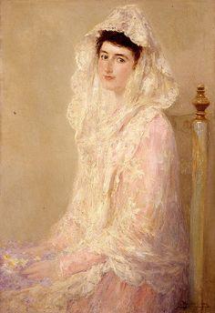 Retrato de María Benlliure Ortiz, h. 1905. Obra de José Benlliure y Gil