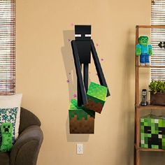 Minecraft Enderman Wall Decal