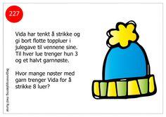 Småproblemer10 Brain Teasers, Word Problems, Fourth Grade, Teaching Math, Runes, Education, School, Christmas, First Grade