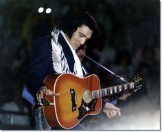 Elvis Presley ,  Elvis at Freedom Hall Johnson City TN on March 18, 1976