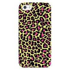 iPhone 6 Plus/6/5/5s/5c Bezel Case - Acid Green Pink Pop Leopard (47 AUD) ❤ liked on Polyvore featuring accessories, tech accessories, iphone case, green iphone case, iphone cover case, leopard print iphone case and apple iphone cases