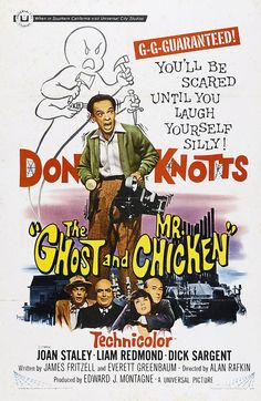 The Ghost and Mr. Chicken posters for sale online. Buy The Ghost and Mr. Chicken movie posters from Movie Poster Shop. We're your movie poster source for new releases and vintage movie posters. Old Movies, Vintage Movies, Great Movies, Scary Movies, Awesome Movies, Current Movies, Halloween Movies, Funny Movies, Comedy Movies