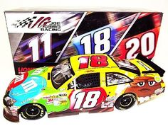*AUTOGRAPHED* 2012 Kyle Busch #18 M's Team (Joe Gibbs Racing) 1/24 Lionel NASCAR Diecast Car by Trackside Autographs. $214.95. For your viewing pleasure: *AUTOGRAPHED* 2012 Kyle Busch #18 M's Team (Joe Gibbs Racing) 1/24 Lionel NASCAR Diecast Car. (#2671 of only 3,186 produced!). This beautiful car has been hand-signed by Kyle in silver on the windshield through a well-respected member of Global Authentication. You will receive a Certificate of Authenticity (COA) with y...