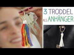 DIY 3 Troddel Accessoires Ketten, Schlüssel, Taschen - Anhänger Geschenk…