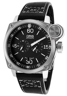Men's Der Meisterflieger Automatic Black Genuine Leather And Dial $999