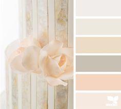 Sweet Tones - http://design-seeds.com/home/entry/sweet-tones8 Cor Pantone, Colour Pallete, Taupe Color Palettes, Neutral Palette, Color Combos, Design Seeds, Peach Colors, Color Themes, Peach Bedroom