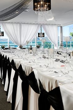 Seated Wedding Reception at Nandina Function Rooms, Majestic Roof Garden Hotel. Adelaide, South Australia.  www.tablescapesbydesign.com https://www.facebook.com/pages/Tablescapes-By-Design/129811416695