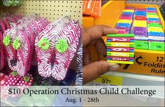 Operation Christmas Child Challenge