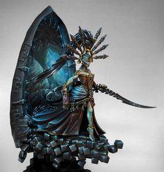 THROUGH THE NEVER Figurine Warhammer, Warhammer 40k Figures, Warhammer Paint, Warhammer Models, Warhammer 40k Miniatures, Eldar 40k, Warhammer Eldar, Dark Eldar, Warhammer Fantasy