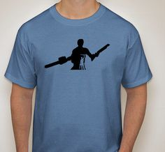 Movie Maniacs: Ash from Evil Dead Silhouette T-Shirt by DJsDecals on Etsy
