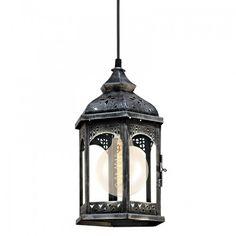 Lampa felinar argintiu antichizat Bauhaus, Interior, Design, Indoor, Interiors