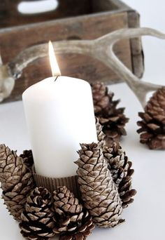 Christmas decoration / Tablesetting centerpiece