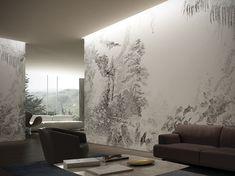 Обои SAIGON GARDEN Коллекция A Room With A View By GLAMORA Tropical Wallpaper, Indirect Lighting, Stunning Wallpapers, Bespoke Design, Interior Walls, Wall Wallpaper, Interior Inspiration, Interior Decorating, Layering