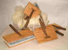 FRICKE ENTERPRISES- lovely hand carders, both cotton/fine and wool