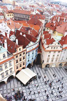 Prag: Ein Blick von oben auf eine umwerfende, faszinierende Stadt