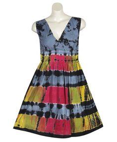 Plus Size Black Tie Dye Dress –Size: 4x Color: Black