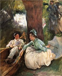 By the River - John Singer Sargent