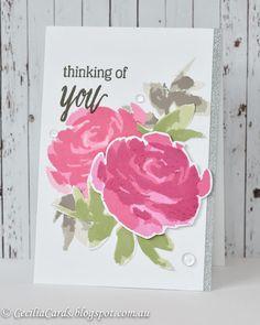 Altenew Painted Rose