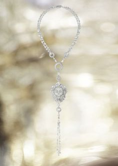 Lion Royal Necklace by Chanel - white gold and diamonds