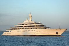 Eclipse is not only the largest yacht, but also the most expensive.