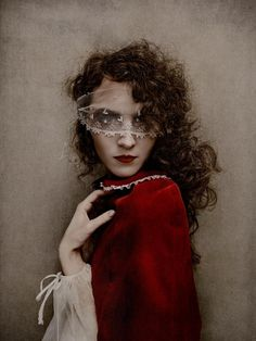 A version of Little Red Riding Hood~Divine!