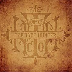 T.H.co. Monogram by #typehunter #badgehunting #typehunting #alwaysonthehunt