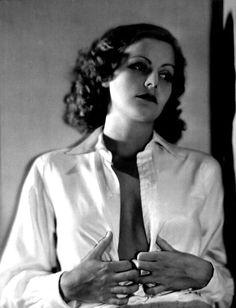 Greta Garbo - holy crap!