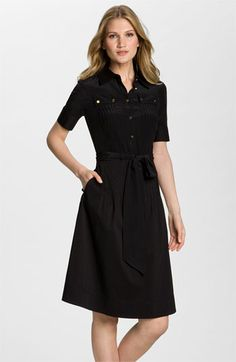 Pretty much exactly perfect for me.  If only it wasn't $325...Tory Burch 'Emmanuelle' Shirtdress available at Nordstrom
