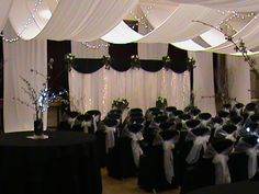 Iu0027m not getting married but ran across then while researching. So pretty. Tulle CeilingCeiling CanopyCeiling DecorWedding ... & tulle ceiling canopy. Barn wedding reception would be beautiful ...