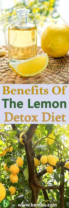 The Lemon Detox Diet, aka The Master Cleanse, has garnered a lot of press because of its ability to provide dramatic weight loss... Health Tips │ Health Ideas │Healthy Food │Health │Smoothie │Food │Desserts │Low Carb │Weight Loss │Diet │Fitness │Tea │Drin