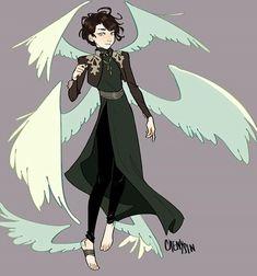 Winged Male Angel