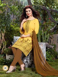 Cotton Indian Salwar Kameez Unstitch 100% Cotton Churidar Shalwar Kameez Suit 3 #OdInParis #Casual