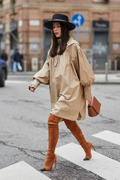The Latest Street Style From Milan Fashion Week Fall 2018 | Who What Wear