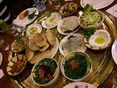 Lecker jordanisches Essen.