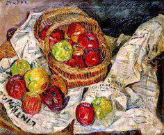 Mela Muter, Still life with apples on ArtStack #mela-muter #art